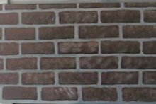 Faux painted brick