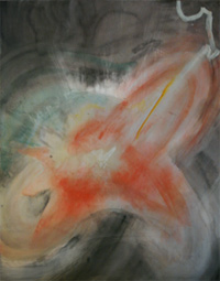 abstract painting: Anger (self-justifying)
