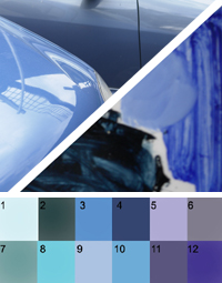 Blue paint colors