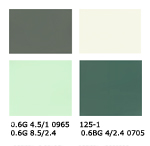 green kitchen color scheme