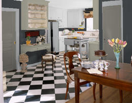 Neutral kitchen colors