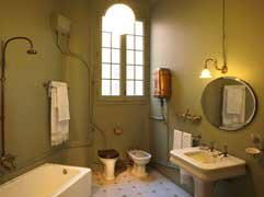 Painting a bathroom with heat reflective paint
