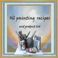 Free recipe sheets for oil painting techniques