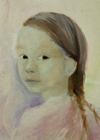 a childs portrait