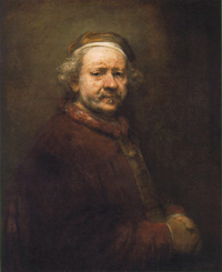 Oil painting by Rembrandt