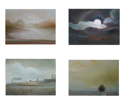 Oil painting series (Snapshots)
