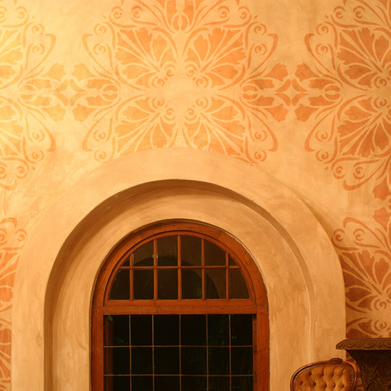 Stencil painting - Wall stencils for painting ...