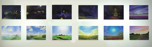 oil painting series 'someday', overview